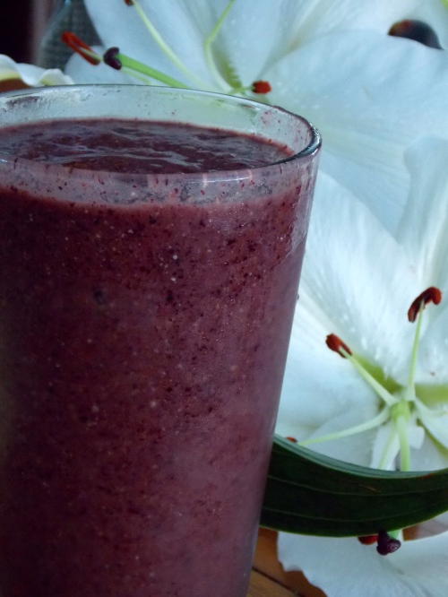Blueberry Mango Smoothie