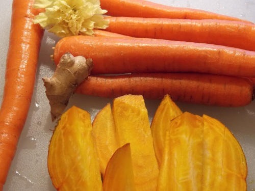 Carrots Ginger, Yellow Beet