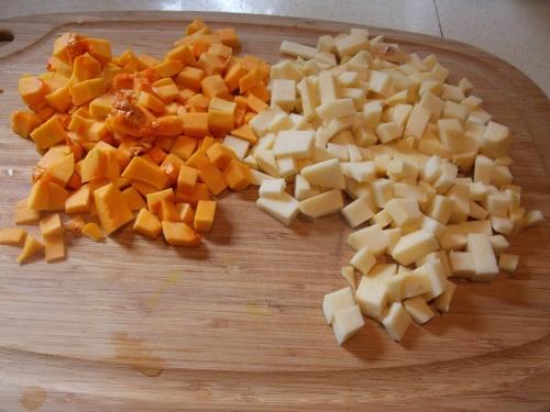 butternut squash, rutabaga